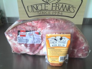 Uncle Frank's Rib Rub